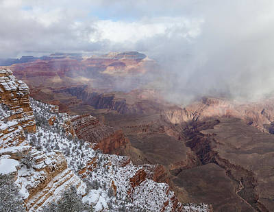 Photograph - the Grand Canyon Overlook 3 by Jonathan Nguyen