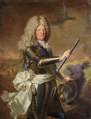 Royalty Painting - The Grand Dauphin by Hyacinthe Rigaud