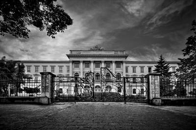 Lviv Photograph - The Grand Entrance by Evelina Kremsdorf