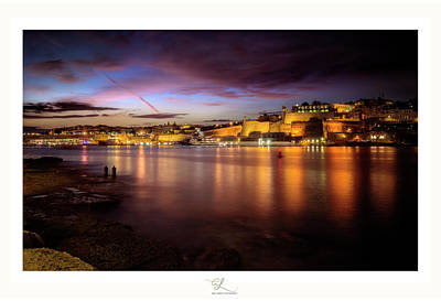 Photograph - The Grand Harbour by Adel Ferrito