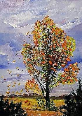 Painting - The Grand Poplar    56 by Cheryl Nancy Ann Gordon