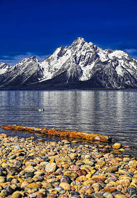 Photograph - The Grand Teton Reflection On Jackson Lake by Dan Sproul