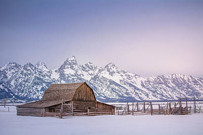 Teton Wall Art - Photograph - The Grand Tetons by Daniel Cooley