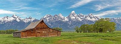 Photograph - The Grand Tetons Iconic Symbol by Willie Harper