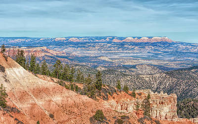 Photograph - The Grandeur Of Bryce Canyon by John M Bailey