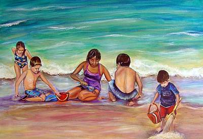 Painting - The Grands by Patricia Piffath