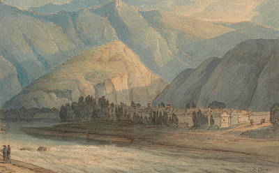Painting - The Grange At The Head Of Keswick Lake by Francis Towne