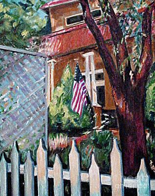 Artpro.com Painting - The Grant House by Karen Francis