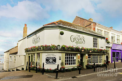Truck Art - The Grapes Falmouth Cornwall by Terri Waters