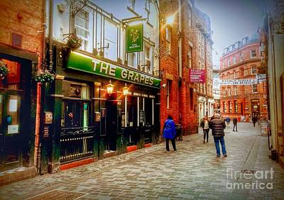 Photograph - The Grapes On Mathew Street by Joan-Violet Stretch