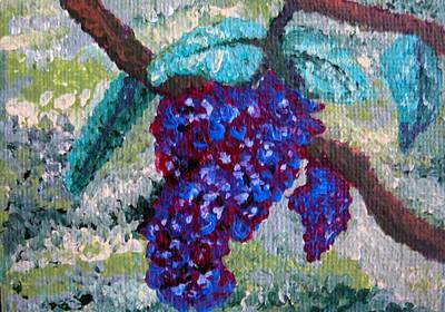 The Grapevine Art Print by Deborah Rosier