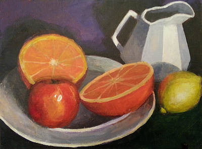 Painting - The Grapfruit by Jessica Anne Thomas
