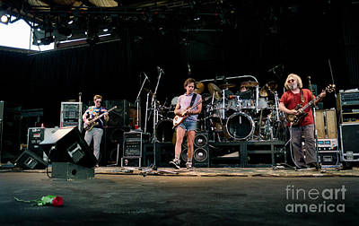 Phil Lesh Photograph - the Grateful Dead Alpine Valley 1987 by Ray Manning