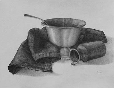 Drawing - The Gravy Boat by Grace Diehl