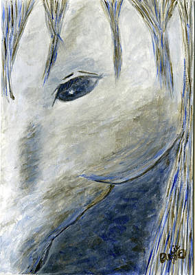 Painting - The Gray Horse by Stephanie Agliano