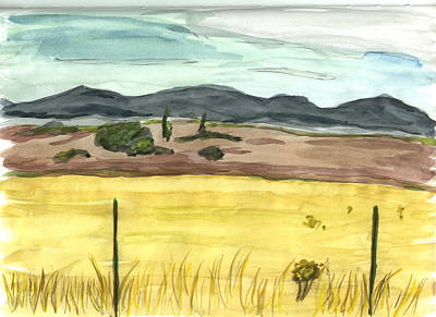 Painting - The Great Basin Utah by Kevin Callahan