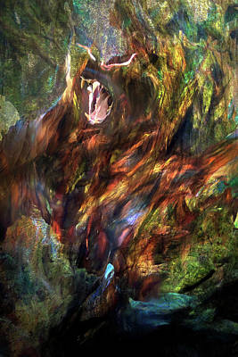 Digital Art - The Great Beast by Lisa Yount