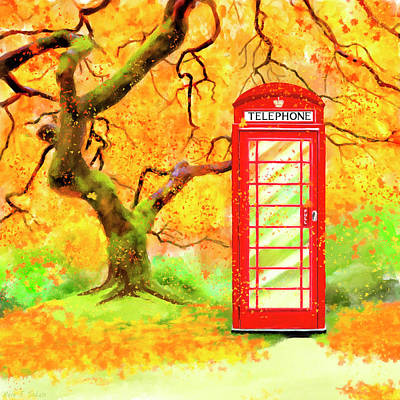 Mixed Media - The Great British Autumn by Mark Tisdale