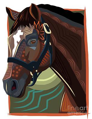 The Great Cigar Art Print by Dania Sierra