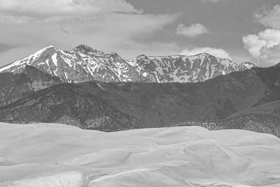 Photograph - The Great Colorado Sand Dunes  by James BO  Insogna