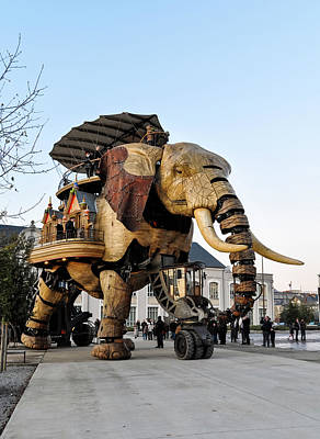 Photograph - The Great Elephant  In Nantes by Dutourdumonde Photography