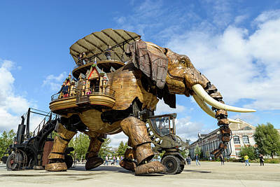 Photograph - The Great Elephant Of Nantes by Dutourdumonde Photography