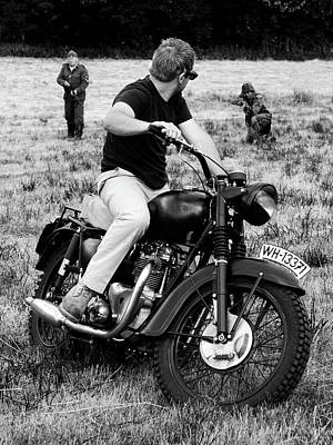 Steve Mcqueen Photograph - The Great Escape by Mark Rogan