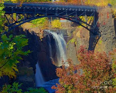 Photograph - The Great Falls by Alice Mainville