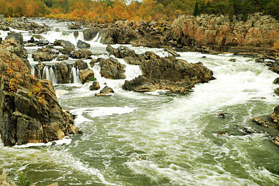 Photograph - The Great Falls by James Kirkikis