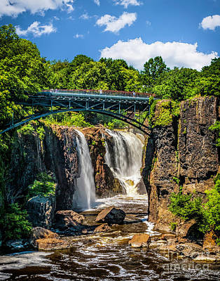 Photograph - The Great Falls Of The Passaic by Nick Zelinsky