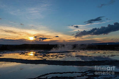 Photograph - The Great Fountain Geyser by Brandon Bonafede