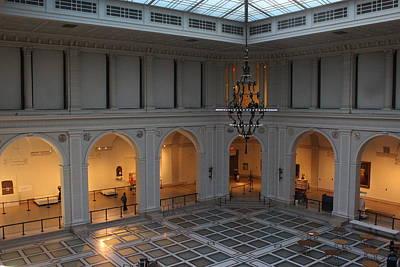 The Great Hall - Brooklyn Museum Of Art Art Print