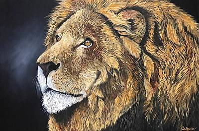 Painting - The Great King by Shannon Marie Schacht