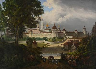 The Great Lavra Of The Trinity Art Print