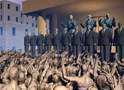 Revolt Digital Art - The Great Mud Revolt by John Alexander