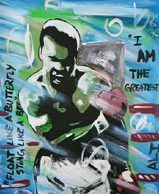 Painting - The Great One by Antonio Moore