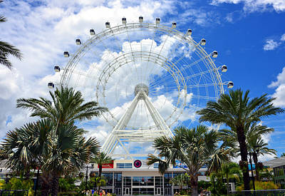 Photograph - The Great Orlando Eye by David Lee Thompson