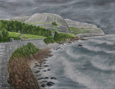 Wales Painting - The Great Orme - Llandudno by Ronald Haber