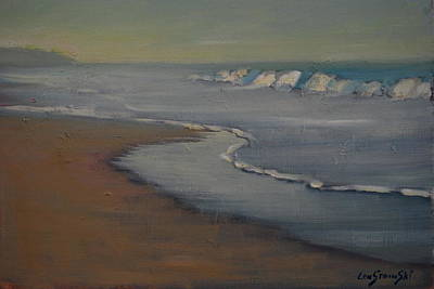 Painting - The Great Pacific by Len Stomski
