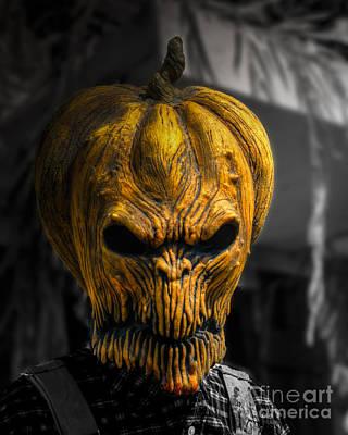 The Great Pumpkin Art Print by Jeffrey Miklush