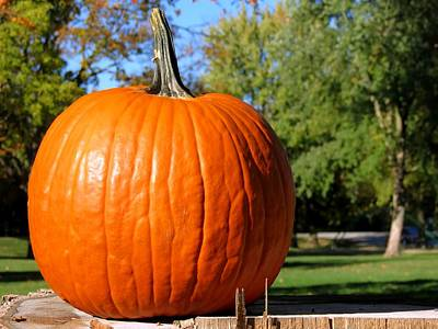 Photograph - The Great Pumpkin by Kyle West