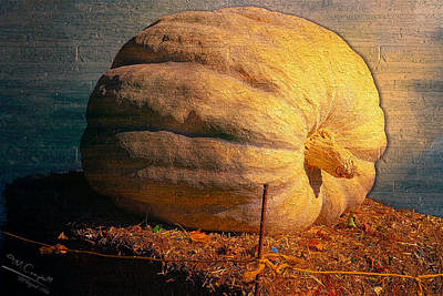 The Great Pumpkin Art Print by Theresa Campbell
