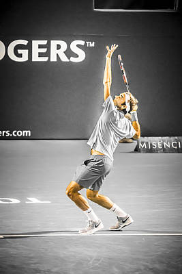 The Great Roger Federer Art Print