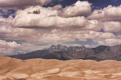 Wall Photograph - The Great Sand Dunes 88 by James BO  Insogna