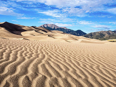 Photograph - The Great Sand Dunes Of Colorado by Nadja Rider