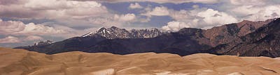 Photograph - The Great Sand Dunes Panorama 1 by James BO Insogna
