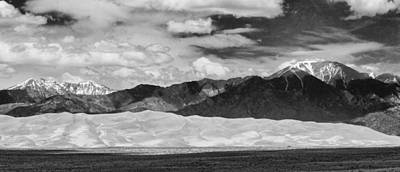 Photograph - The Great Sand Dunes Panorama 2 by James BO  Insogna