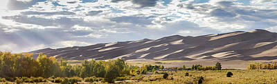 Photograph - The Great Sand Dunes Triptych - Part 1 by Tim Stanley