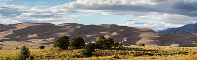 Photograph - The Great Sand Dunes Triptych - Part 2 by Tim Stanley