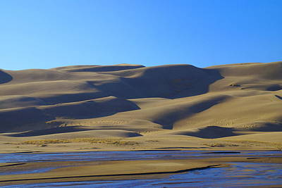 Photograph - The Great Sand Dunes Up Close by Bj Hodges